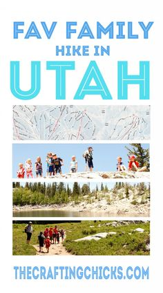 Favorite Family hike in Utah #summer #kids #active