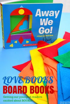 Reading with babies and toddlers. Making a love book activity to accompany a board book and the #LOVEBOOK board book participants! #reading