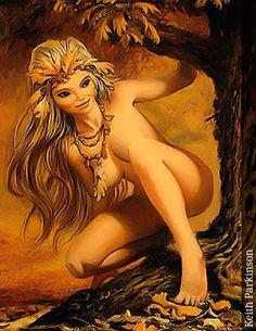 Ninfa - Seres Mitológicos y Fantásticos