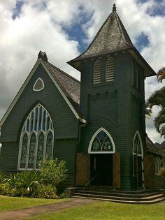 Wai'oli Hui'ia Church in Hanalei.