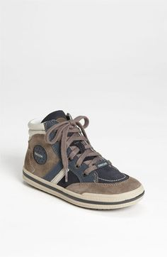 Geox High Top Sneaker (Toddler, Little Kid & Big Kid) available at #Nordstrom
