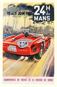 Vintage race car poster  http://www.turrifftyres.co.uk