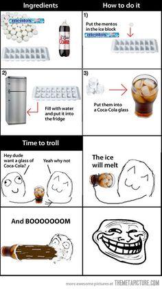The explosive soda prank - Perfect!