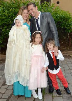 Tamara bautiza a su tercera hija, Valentina, en una ceremonia familiar e íntima