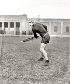 """1924. """"Lewis, Maryland Agricultural College."""" Gomer Lewis, University of Maryland lacrosse star."""