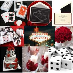 vegas themed party