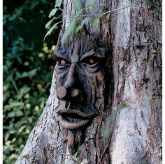 The Spirit of Nottingham Woods: Greenman Tree Sculpture. $29.95.