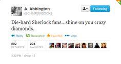 Amanda Abbington, I love you. So much.