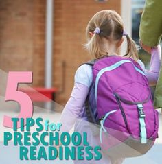 Is your preschooler nervous about going to school? Our #LearningToolkit blog shares 5 tips for calming first-day jitters. Click for details.