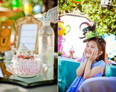 Festa kids: Decoração Alice no País das Maravilhas