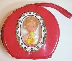 Vintage 1960's Kiddle Clone Doll Purse   Flickr - Photo Sharing!
