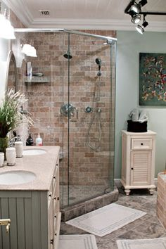 master bathroom - shower