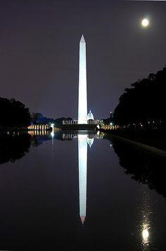 Washington Monument and Reflecting Pool, Washington, D.C.