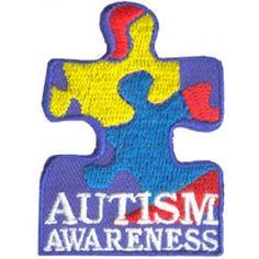 fun patch, autism awareness, scout badg, scout awar, awar badg