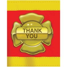 Firefighter Thank You Notes