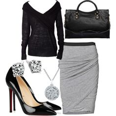 Business Casual I would ROCK this outfit.. oh I belong in New York... or anywhere besides OREGON
