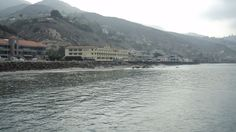 Malibu Beach Inn, viewed from Malibu Pier.