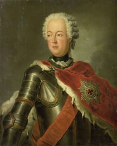 Portrait of Prince August Wilhelm of Prussia, copy after Antoine Pesne, 1740 - 1800