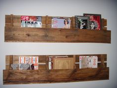 Crate Pallet Shelf