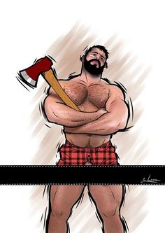 from Rylan cartoon gay lumberjack