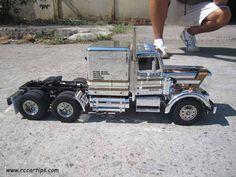 RC Semi Truck - Tamiya Kin Hauler Metallic