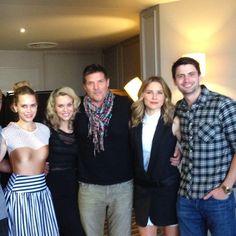 Bethany, Hillarie, Paul, Sophia, and James in Paris :)