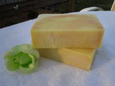 Sun Kissed Cold Process Shea Butter Soap by LillysSoapKitchen, $6.00