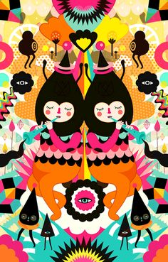 Muxxi / We are Magical / Illustrations  via: howdystranger.com.au
