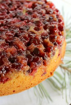 Cranberry Upside Down Cake.