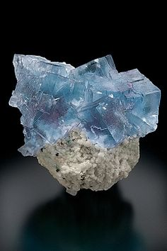 Fluorite and Barite - Rosiclare Level, Minerva No.1 Mine - Cave-in-Rock District, Hardin County, Illinois