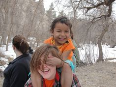 Tri-S VBS programs are offered in the United States and internationally like the student pictured here from the South Dakota VBS / Work Camp. student pictur