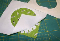 Machen und Tun: tutorial - how to sew a perfect circle block - if I had only pinned this before the basketball quilt