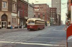 1970's era TTC Streetcar