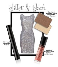 Rocking a high-shine dress? Try this neutral look featuring Mary Kay® NouriShine Plus® Lip Gloss in Fancy Nancy to let the sequins do the talking!