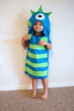 cute monster costume