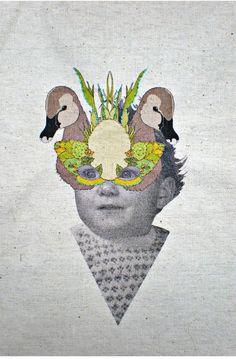 laura mckellar, embroidery art work