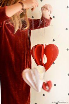Make 3D Paper Hearts