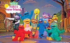 Sesame Street Live! Coming to the Target Center January 23-26, 2014. Enter to win tickets!