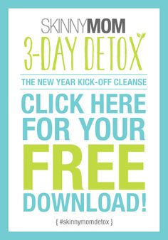 Kick-off the New Year with this 3-Day Detox cleanse! Click here for more details!