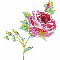 Check out this beautiful Couture Rose 3 design from the Laura Ashley® collection on iBroidery.com!