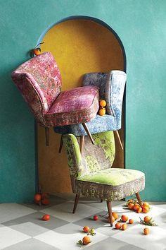 #Moresque #Chair via #Anthropologie