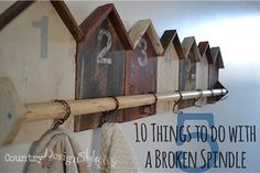 10-things-to-do-with-a-broken-spindle-5 #upcycle #repurpose