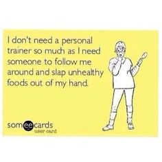 Taking volunteers now! Fitness motivation