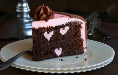 Chocolate Chocolate Raspberry Cake