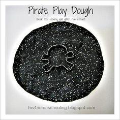 Pirate play dough