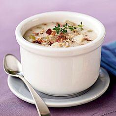101 Healthy Soup Recipes | Simple Clam Chowder | CookingLight.com