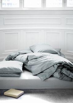 Classy bed on floor