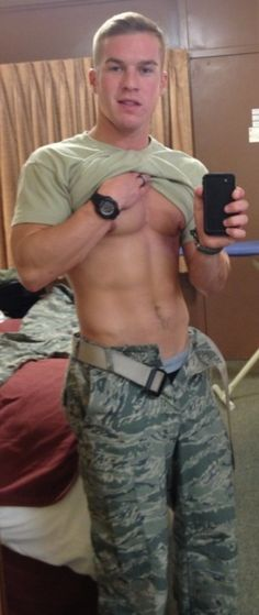 Every girl loves an army boy :)