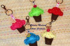 porta-chaves em feltro craft idea, portachav em, em feltro, art decorativa
