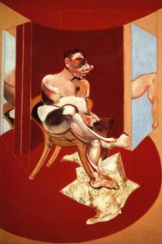 """""""Study of George Dyer"""" by Francis Bacon"""
